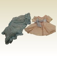 Two Nylon 1950's Dresses---FREE Shipping