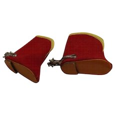 Doll Cowboy Boots --- FREE shipping