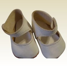 Very Large Vintage Doll Shoes
