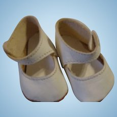 Vintage Doll Shoes; leather