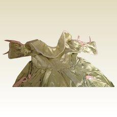 Fabulous Vintage Princess Dress for Composition or Hard Plastic doll