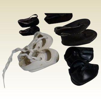 5 pair of Vintage Shoes