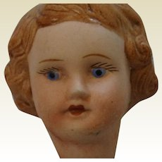 Small French 1930's Doll Head