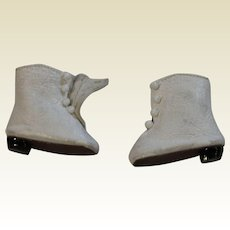 Vintage replacement White Boots