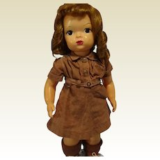 Terri Lee in Brownie Costume