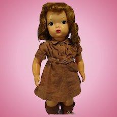 Terri Lee in Brownie Costume