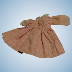 Vintage Dress for a Small Doll