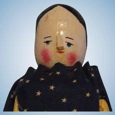 "9 1/2"" Peg Wooden Doll"