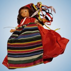 Storybook Doll with Turnable Head