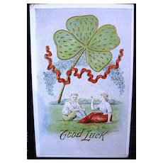 Fred C. Lounsbury St. Patrick's Day Postcard ca 1907