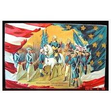George Washington ca. 1911 Patriotic Postcard