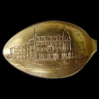 Minot House, Asbury Park, NJ Sterling Souvenir Spoon