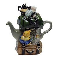 "Cardew Design One Cup Teapot ""Travellers Return"" British"
