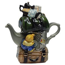 "Cardew Design One Cup Teapot ""Travellers Return"" British"