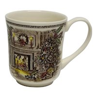 "Johnson Brothers ""Merry Christmas"" Mug Made in England"