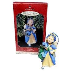Hallmark Keepsake Iris Angel Christmas Ornament 1998