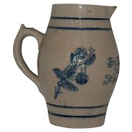 White's Utica 1800's German Beer Pitcher