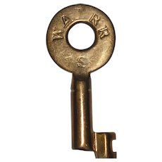 Wabash MM Buck Taper Barrel Brass Switch Key