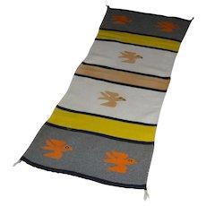 Navajo Bird Pictorial Rug