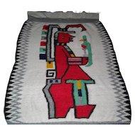 Peruvian Alpaca Handmade Blanket