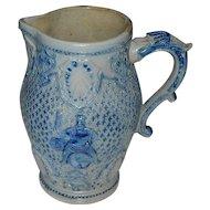 White's Utica 1800's Ornate Beer Pitcher