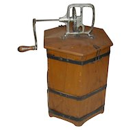 The Home Butter Maker Wooden Churn