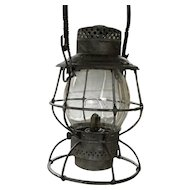 Baltimore & Ohio Adlake Locomotive Tall Globe Lantern