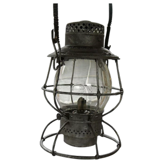 Baltimore & Ohio Adlake Locomotive Tall Globe Lantern