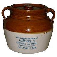 Red Wing South Dakota Bean Pot
