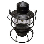 Northern Pacific Armspear Tall Globe Lantern