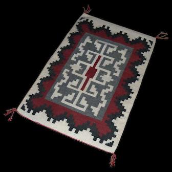 Ganado Style Navajo Rug