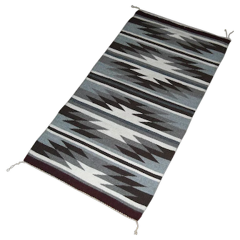 Handwoven Chinle Navajo Rug