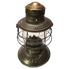Missouri Pacific Handlan-Buck Brasstop Lantern