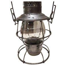 Pacific Electric Railway Adlake Reliable Tall Globe Lantern