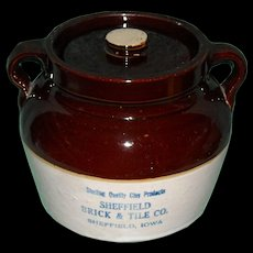 Sheffield Brick & Tile Red Wing Bean Pot