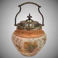 Antique Biscuit Jar