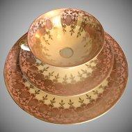 Bavarian Cup Saucer and Dessert Plate Set