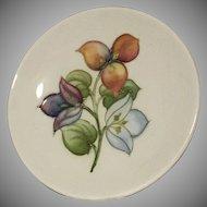 Sweet MOORCROFT Pin Dish - Bougainvillea Pattern