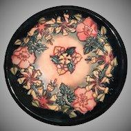 MOORCROFT Decorative Plate Designed by Rachel Bishop