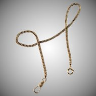 Attractive Gold Pocket Watch Chain