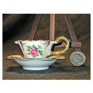 Adorable Vintage Miniature Cup & Saucer