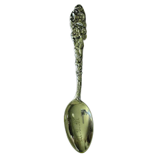 Trumpeting Angel Sterling Silver Spoon by Mechanics Sterling Co.