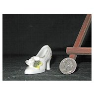 Miniature Porcelain High Heel Shoe