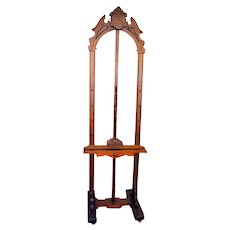 American 19th Century Eastlake Walnut Artist Easel