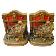 Armor Bronze Fireside Comfort Bookends