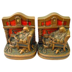 Armor Bronze Fireside Comfort Bookends