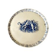 Antique Carlsbad Marx & Gutherz Porcelain Charger/Cupboard Plate