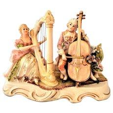 Vintage Ardalt Victorian Lighted Musical Figurine