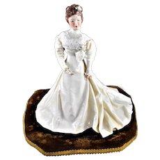 China Porcelain Figurine Victorian Bride