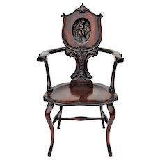 Mahogany Desk Chair